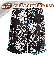 G-III Detroit Lions Men's Hawaiian Swim Trunks - NFLShop