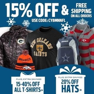 NFL Shop Cyber Monday Deal
