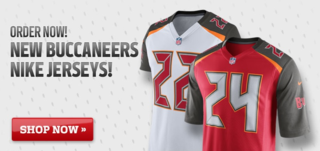 New Bucs Jerseys