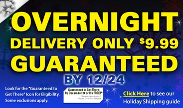 Get Overnight Shipping for $9.99!